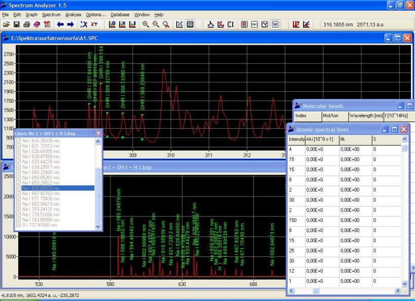 Spectrum Analyzer Homepage
